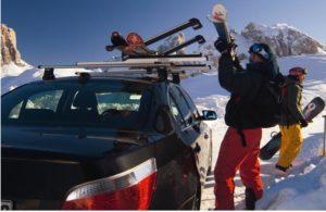 сноубордов и лыж